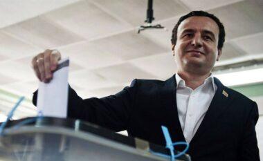 Nga Kosova në Shqipëri, Albin Kurti voton në Tiranë (VIDEO)