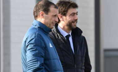 Allegri dhe Agnelli ndjekin ndeshjen nga tribuna, Napoli vendimtar për fatin e Pirlos