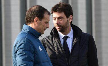 Drejtuesit e Juventusit takohen me Allegrin