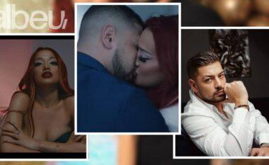 E pranuan më në fund, Andi dhe Melisa puthen në buzë para gjithë shqiptarëve (FOTO LAJM)