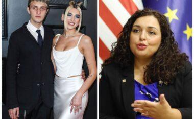 Dhëndër në Kosovë, i dashuri i Dua Lipës mbështet publikisht presidenten Vjosa Osmani