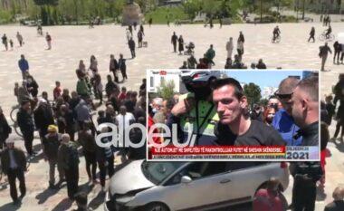 """Rrezikoi dhjetra jetë njerëzish, ky është shoferi që shkaktoi """"çmendurinë"""" mes Tiranës (FOTO LAJM)"""