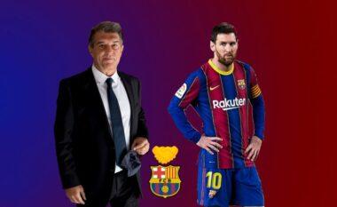 Joan Laporta tenton ta bindë Messin me kontratë trevjeçare