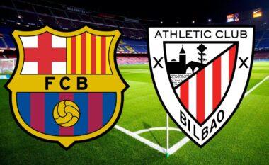 KUPA E SPANJËS/ Barcelona – Athletic Bilbao, formacionet zyrtare