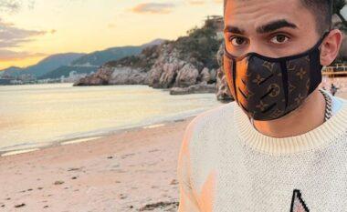 """Butrint Imeri shfaqet me maskë """"Louis Vuitton"""", sa është çmimi i saj"""