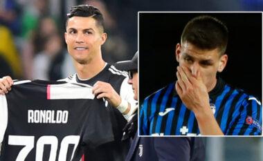 Plas gallata, Gosens më në fund e fiton një fanellë të CR7, por jo nga Ronaldo (VIDEO)