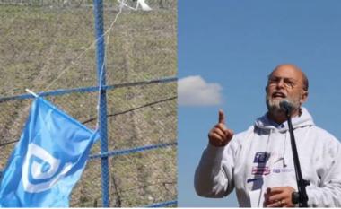 Mbi kokën e socialistit u valëvit flamuri i PD, procedohet 28-vjeçari (VIDEO)