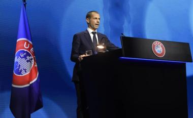 """""""Bomba"""" e Presidentit të UEFA-s: Real Madrid-Chelsea, mund të mos luhet"""