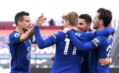 Chelsea i mjafton një gol i Werner për të mposhtur West Ham (VIDEO)
