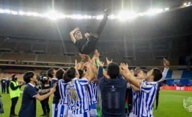 Fitoi Copa del Rey, vjen reagimi epik i trajnerit të Real Sociedatit