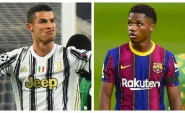 Ronaldo i jep zemër Ansu Fati: Do kthehesh së shpejti (VIDEO)