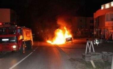Shkrumbohet makina në Vlorë