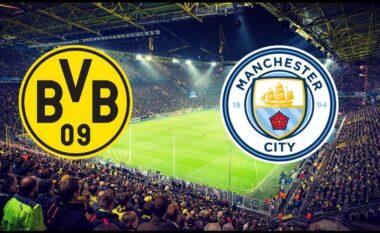 CHAMPIONS/ Borussia Dortmund – Manchester City, formacionet e mundshme