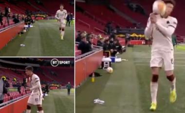 """E tërboi humbja e ekipit të zemrës, kjo video në Europa League bëhet """"hit"""""""
