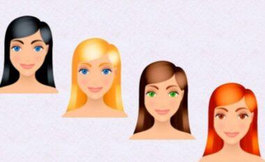 Më thuaj ngjyrën e flokëve, të të tregoj personalitetin që ke