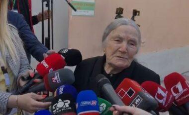 """""""Po votoj për herë të fundit"""", 97 vjeçarja prek me deklaratën (VIDEO)"""