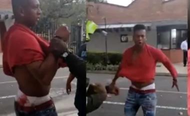 I dehur dhe i gjakosour, Fredy Guarin kalon limitet, përleshet me familjen (VIDEO)