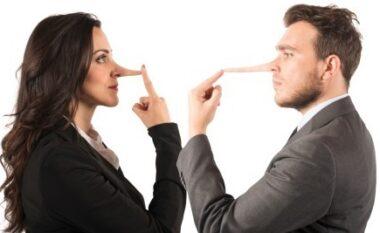 Femrat apo meshkujt? Studimi: Kush gënjejnë më shumë