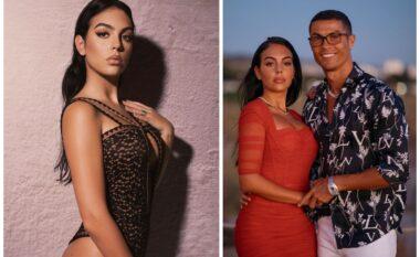 """Pozoi me Georginën nga palestra, 10 milion ndjekës u """"çmendën"""" pas fotos së Cristiano Ronaldos (FOTO LAJM)"""