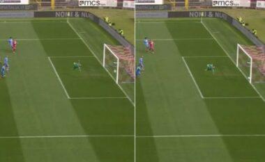 Topi gjysmë metri brenda, çfarë goli anullohet në kampionatin italian