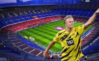 """Barcelona me """"Plan B"""" për transferimin e Haaland"""