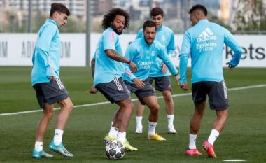 Pas suksesit me Barcelonën, Reali me Hazard të rikthyer nis përgatitjet për ndeshjen me Liverpoolin