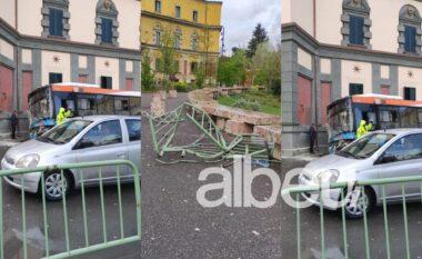 Pamje të frikshme mes Tiranës! Autobuzi merr përpara makinën, 4 të plagosur
