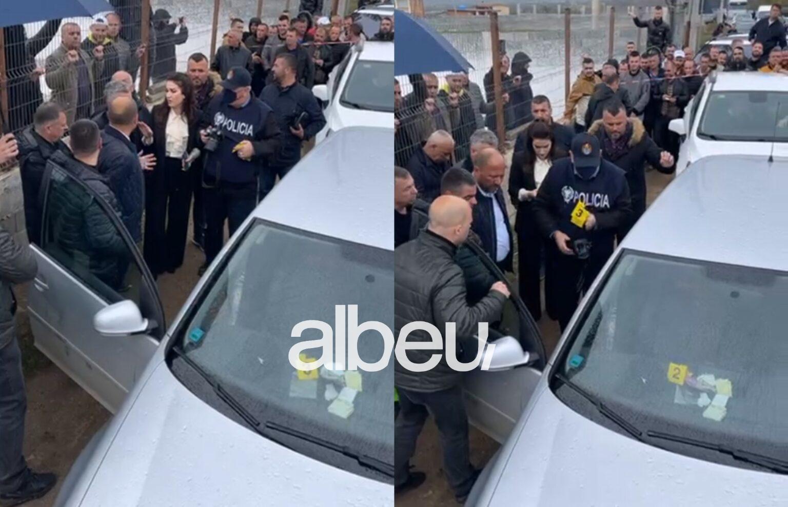 Hapet makina e bllokuar në Dibër, brenda gjenden tufa plot me para: Do ia çoj direkt Berishës! (VIDEO)