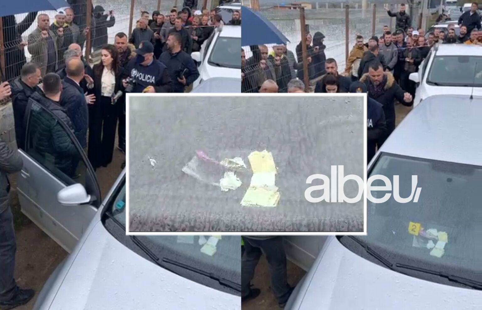 Shpërndau para në 5 fshatra, zbulohet si u pikas dhe bllokua për 1 orë makina në Dibër (VIDEO)