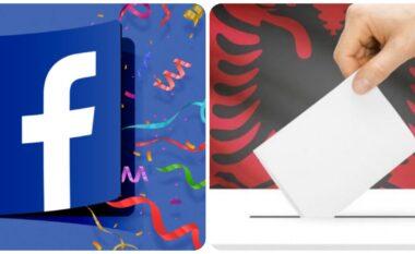Facebook nxit shqiptarët që të votojnë, krijon një opsion të veçantë