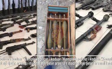 Snajper, anti-tank e granata! Arsenali i armëve të sekuestruara në pronën e Sokol Xhurës (VIDEO)