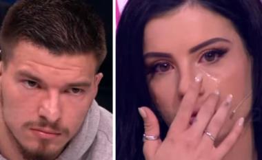 Si asnjëherë më parë, Jasmina qan me ngashërim në studio pas takimit me Andin (FOTO+VIDEO)