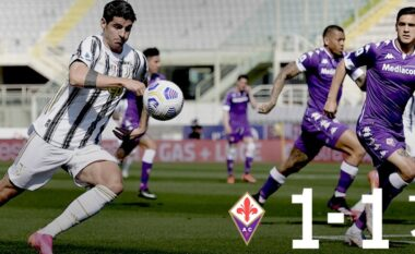 """Juventus e bën """"baltë"""", ndalet nga Fiorentina dhe rrezikon seriozisht zonën Champions (VIDEO)"""