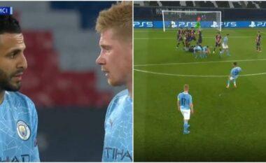 De Bruyne tregon çfarë i tha Mahrez para se të dërgonte topin  në rrjetë (VIDEO)