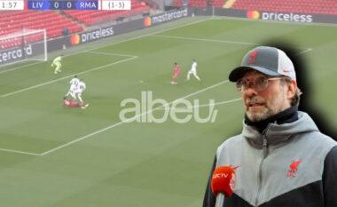 """Eliminimi nga Champions, Klopp: Sezonin e kaluar Salah shënonte me """"sy mbyllur"""", këtë sezon s'po mundet"""
