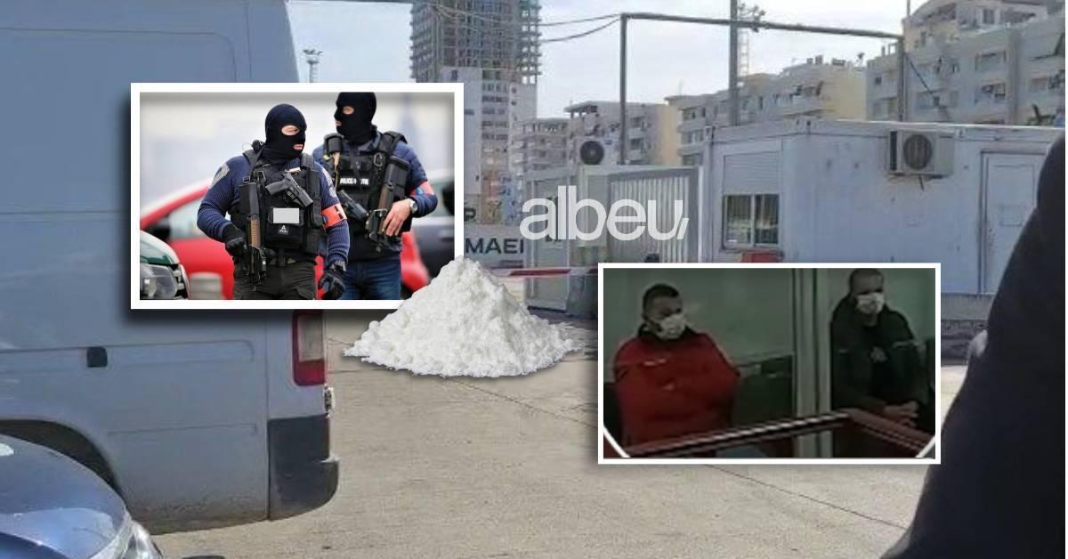 Miliona euro kokainë fshehur në kontejnerat e bananeve, të arrestuarit dalin para gjykatës