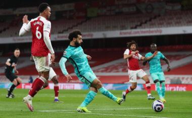 Liverpool dyfishon rezultatin përballë Arsenalit (VIDEO)