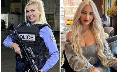 Di mirë të rrëmbejë vëmendjen, policja joshëse nga Kosova bën namin në rrjet (FOTO LAJM)
