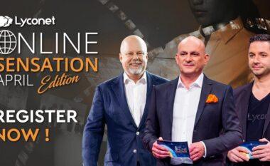 """Bëhuni pjesë e biznes seminarit online më të madh në botë – """"Lyconet Online Sensation"""""""