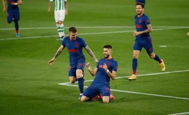 Shënohen dy gola të shpejtë në ndeshjen Betis-Atl Madrid (VIDEO)
