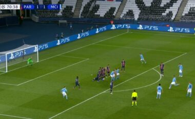 """CHAMPIONS/ """"Tërmet"""" në Paris, Manchester City përmbys rezultatin (VIDEO)"""