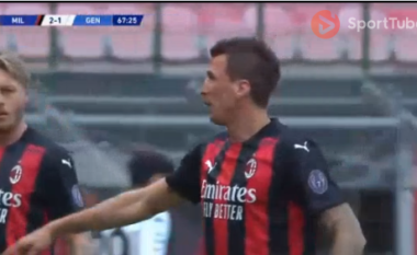 Milani kalon sërish në avantazh ndaj Genoas (VIDEO)