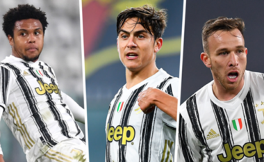 Përfundon dënimi, McKennie, Dybala dhe Arthur rikthehen në stërvitje me Juventusin