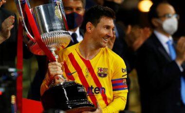 Barcelona fitoi Copa del Rey, Messi: Është ndjenjë e veçantë të fitosh trofe si kapiten