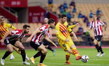 Kupa e Spanjës/ Përfundon pjesa e parë pa gola ndërmjet Ath Bilbaos dhe Barcelonës
