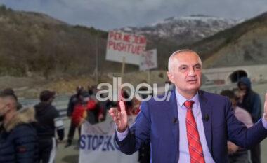 """""""Të ndalet kjo masakër ekologjike"""", Meta: Mbështes protestën e banorëve të Zall Gjocajt"""