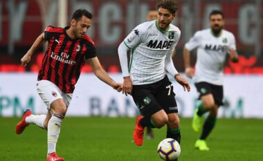 Formacionet zyrtare, Milan-Sassuolo
