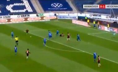 Ylli i Kosovës shënon një super gol në Gjermani (VIDEO)