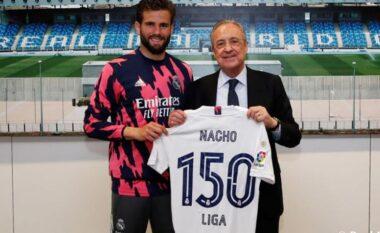 Nacho arrinë shifrën e 150 ndeshjesh me Real Madridin