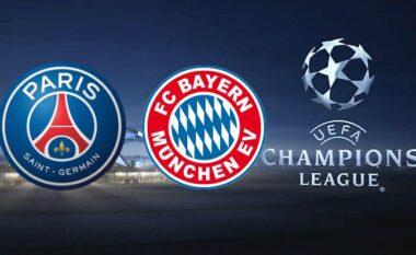 Formacionet zyrtare, PSG-Bayern
